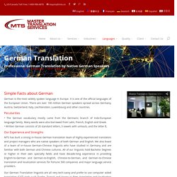 German Chinese Translation Services in China