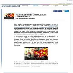 France 2 : le chinois ludique, l'arabe communautariste