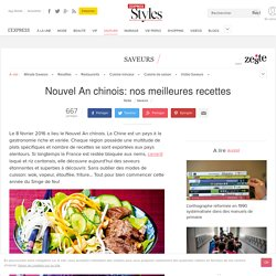 Nouvel An chinois: nos meilleures recettes - L'Express Styles
