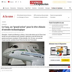 C919, avion commercial made in china pour 2015