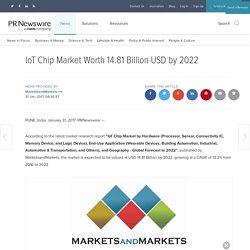 IoT Chip Market Worth 14.81 Billion USD by 2022