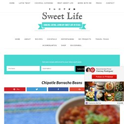 Chipotle Borracho Beans - Sweet Life
