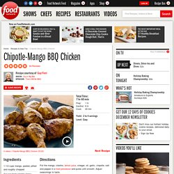 Chipotle-Mango BBQ Chicken Recipe : Guy Fieri