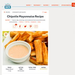 Chipotle Mayonnaise Recipe