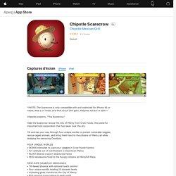 Chipotle Scarecrow dans l'App Store