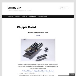 CHIPPER BOARD