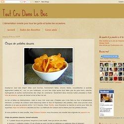 Chips de patates douces