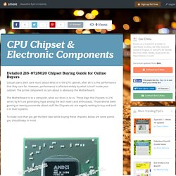 CPU Chipset & Electronic Components