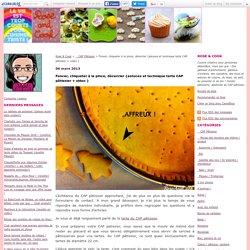 Foncer, chiqueter à la pince, décercler {astuces et technique tarte CAP pâtissier + video