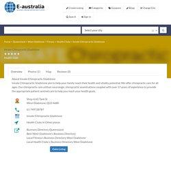Innate Chiropractic Gladstone - Health Club in West Gladstone, QLD - e-australia - Business Directory