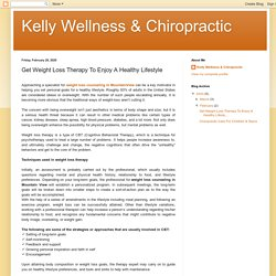Kelly Wellness & Chiropractic: Get Weight Loss Therapy To Enjoy A Healthy Lifestyle