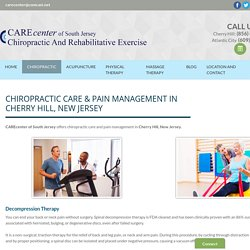 Chiropractic Care, Pain Management
