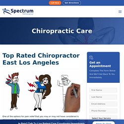 Top Rated Chiropractor in Los Angeles