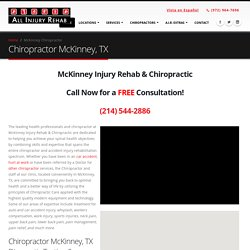 McKinney TX Chiropractor Personal Injury