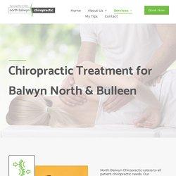 Chiropractor Serving Balwyn North