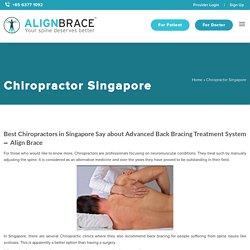 Best Chiropractors in Singapore