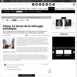 Chine: Le boum de la chirurgie esthétique : Société