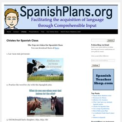Chistes for Spanish Class