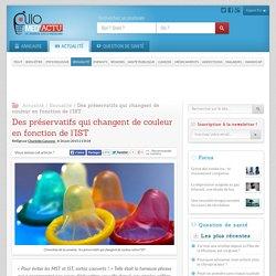 Jaune pour l'herp�s, vert pour la chlamydia… ces pr�servatifs changent de couleur selon l'IST