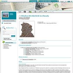 Chlodion Le Chevelu - ROI de TELUANE voir plus haut.