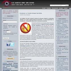 """Chlordécone : Le """"monstre chimique"""" des Antilles"""