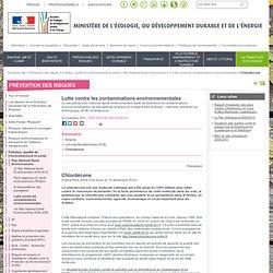 CHLORDÉCONE Ministère de l'écologie