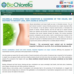 Chlorella - Solution to Natural Colon & Bowel Cleansing, Better Digestion!