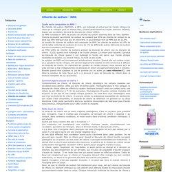 Chlorite de sodium - MMS : labiodynamie