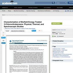 Physical, Thermal & Spectral Properties of 3-CNB