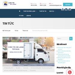Cho thuê xe đông lạnh tại Hà Nội - Vận Tải Xe Lạnh