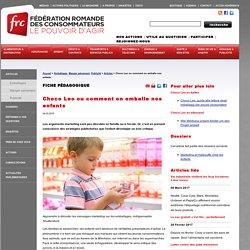 Projet céréales : Comment on emballe nos enfants ?