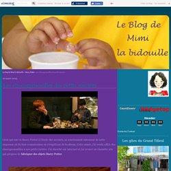 Les chocogrenouilles des petits sorciers - Le blog de Mimi la Bidouille