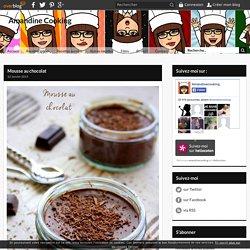 Mousse au chocolat - Amandine Cooking
