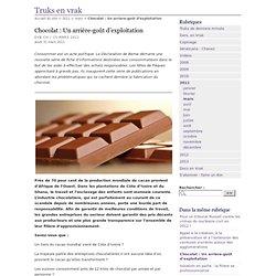 Chocolat : Un arrière-goût d'exploitation
