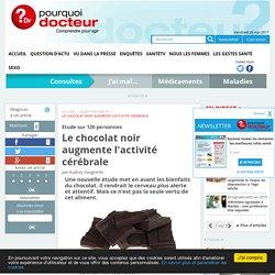 Le chocolat noir augmente l'activité cérébrale