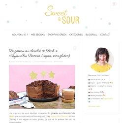 Le gâteau au chocolat de Leah x Aujourd'hui Demain (vegan, sans gluten) - Sweet & Sour
