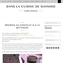 Brownie chocolat et betterave {recette végétaliene}