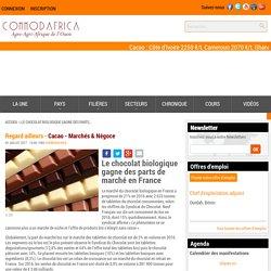 Le chocolat biologique gagne des parts de marché en France