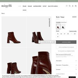 Boots - Tessya chocolat - Bottines et boots VEAU - Minelli