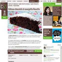 Gâteau chocolat et courgette Recette