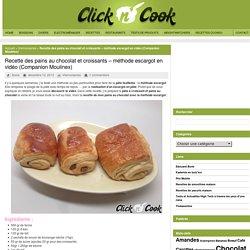 Pains au chocolat et croissants – méthode escargot (tuto)