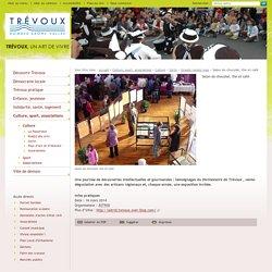 Salon du chocolat, thé et café - Grands rendez-vous - Sortir - Culture - Culture, sport, associations - Mairie de Trévoux