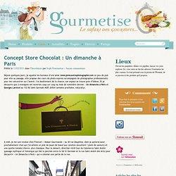 blog sur Concept Store Chocolat : Un dimanche à Paris