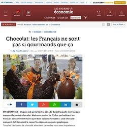 Chocolat: les Français ne sont pas si gourmands que ça