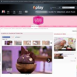 La sphère en chocolat par Frédéric Bau une recette étape par étape de Le meilleur pâtissier l'émission sur M6