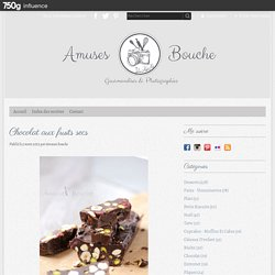 Chocolat aux fruits secs