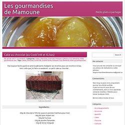 Cake au chocolat (au Cook'in® et IG bas)
