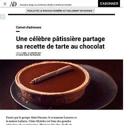 Tarte au chocolat de Claire Heitzler