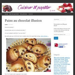 Pains au chocolat illusion