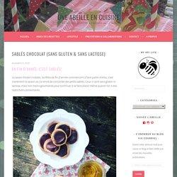 Sablés chocolat {sans gluten & sans lactose} – Une abeille en cuisine